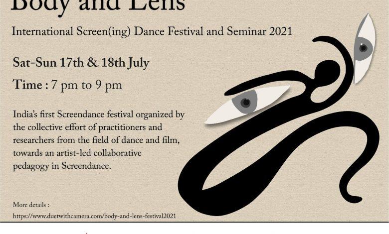 Photo of Body and Lens International Screening Dance Festival and Seminar